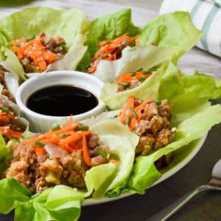 'Umami' Vegan Lettuce Wraps