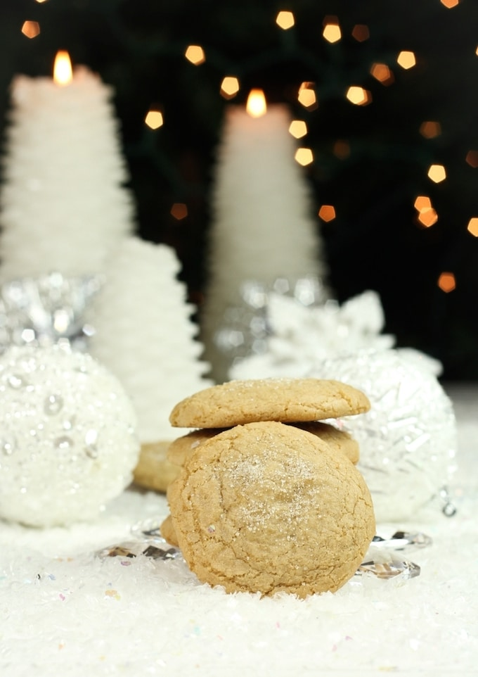 Vegan Holiday Cookie - Sugar cookies that are also gluten-free